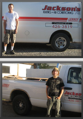 gas fitting and sheet metal staff